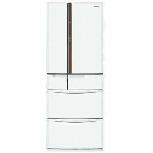 パナソニック NR-FVF452-W 6ドア冷蔵庫 (451L・フレンチドア) クラフトホワイト