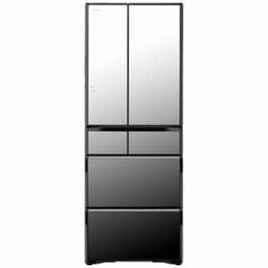 日立 R-WX5600G-X 真空チルド ラグジュアリーWXシリーズ 6ドア冷蔵庫(555L・フレンチドア) クリスタルミラー