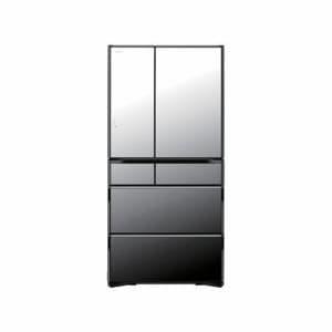 日立 R-WX7400G-X 6ドア冷蔵庫 (735L・フレンチドア) クリスタルミラー