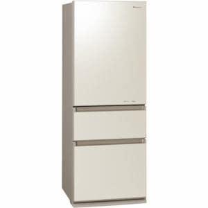 パナソニック NR-C32FGML-N 3ドア冷凍冷蔵庫 (315L・左開き) クリアシャンパン