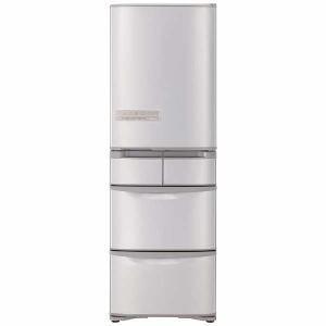 日立 R-K40G-SN 5ドア冷蔵庫 (401L・右開き) ステンレスシャンパン