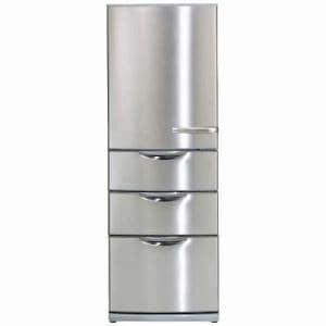 AQUA AQR-S36F(S) 4ドア冷蔵庫  (355L・右開き) ステンレスシルバー