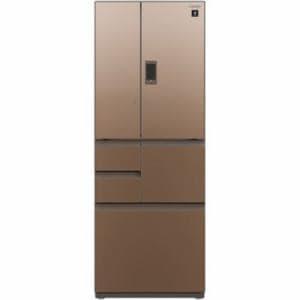 シャープ SJ-GX50D-T  6ドア冷蔵庫 (502L・フレンチドア) グラデーションブラウン