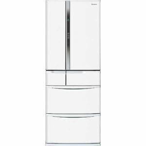パナソニック NR-FVF453-W 6ドア冷蔵庫 (451L・フレンチドア) ハーモニーホワイト