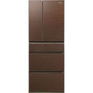 パナソニック NR-F453HPX-T 6ドア冷蔵庫 (450L・フレンチドア) 「HPXタイプ」 マチュアブラウン