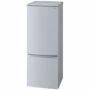 シャープ SJ-D17D-S 2ドア冷蔵庫 (167L・つけかえどっちもドア) シルバー