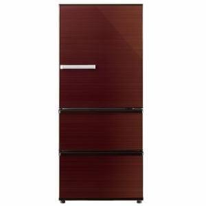 AQUA AQR-SV27G(T) 3ドア冷蔵庫 「SVシリーズ」 (272L・右開き) グロスブラウン
