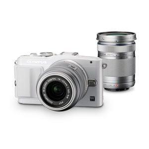 Olympus デジタル一眼カメラ E-PL6 WKIT WHT