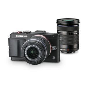 Olympus デジタル一眼カメラ E-PL6 WKIT BLK