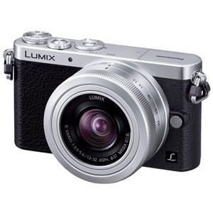 Panasonic LUMIX(ルミックス) デジタル一眼カメラ レンズキット シルバー DMC-GM1K-S