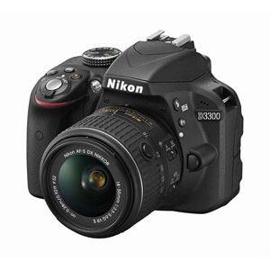 Nikon レンズ交換式一眼レフレックスタイプデジタルカメラ D3300 18-55 VRII レンズキット D3300 LKIT(BK)