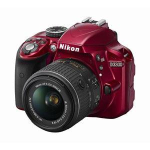 Nikon レンズ交換式一眼レフレックスタイプデジタルカメラ D3300 18-55 VRII レンズキット D3300 LKIT(RD)
