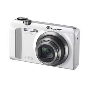 CASIO デジタルカメラ EXILIM(エクシリム) ホワイト EX-ZR500-WE
