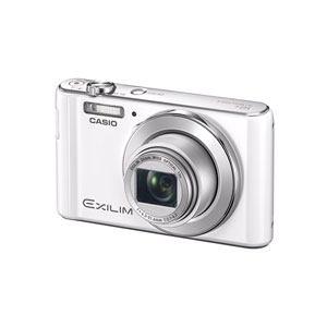 CASIO デジタルカメラ EXILIM(エクシリム) ホワイト EX-ZS180-WE