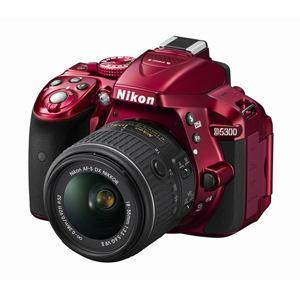 Nikon デジタル一眼カメラ D5300 18-55 VR IIレンズキット D5300 18-55 VR II LK RD