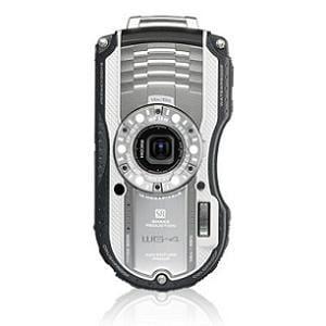 RICOH コンパクトデジタルカメラ 1600万画素 シルバー WG-4(SL)
