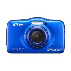 Nikon デジタルカメラ COOLPIX S32 ブルー COOLPIX S32 BL