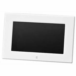 グリーンハウス 7型ワイド液晶搭載デジタルフォトフレーム ホワイト GH-DF7X-WH