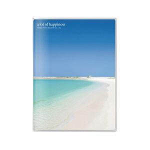 ハクバ Pポケットアルバム NP Lサイズ 40枚収納 砂浜 APNP-L40-SHM