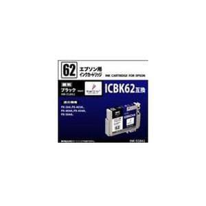 オーム電機 INK-EGB62 ICBK62互換 エプソン用汎用インク ブラック