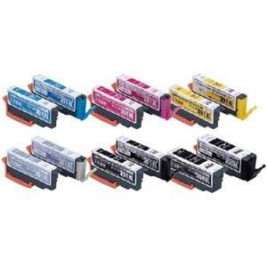 カラークリエーション CANON BCI-351XL+350XL/6MP互換6色パック 交換用インクタンク付 CCC-350351LW-6P