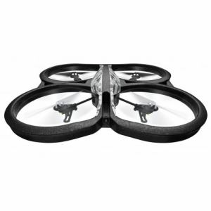 パロット PF721931P 空撮用ドローン AR.Drone 2.0 Elite Edition HDカメラ付 クワッドコプター(スノー)