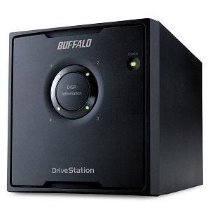 <ヤマダ> バッファロー ドライブステーションRAID  5対応USB3.0用  外付けHDD  4ドライブ搭載モデル  16TB HD-QL16TU3/R5J HDQL16TU3R5J F16