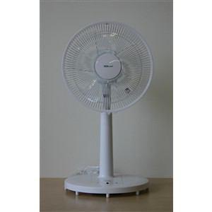 TEKNOS DCマイコンリビング扇風機 TED-03DC(WH)