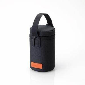 エレコム DGB-DSL001BK 「off toco」インナーレンズケース(Mサイズ) ブラック