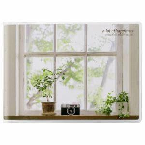 ハクバ APNP-LY-MCM Pポケットアルバム NP Lサイズ 横 20枚収納(窓辺のカメラ)