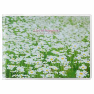 ハクバ APNP-LY-SHB Pポケットアルバム NP Lサイズ 横 20枚収納(白い花畑)