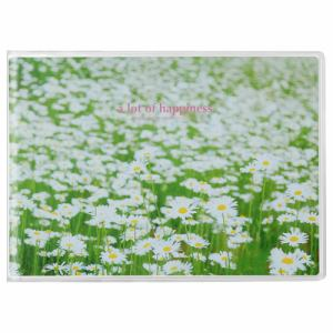 ハクバ APNP-2LY-SHB ハクバ Pポケットアルバム NP 2Lサイズ 横 20枚収納(白い花畑)