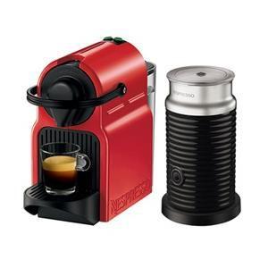 ネスプレッソ ネスプレッソコーヒーメーカー バンドルセット レッド Nespresso Inissia(イニッシア) C40RE-A3B