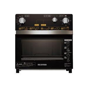 アイリスオーヤマ ノンフライ熱風オーブン ブラック FVX-D3A