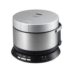 HITACHI IHジャー炊飯器 「おひつ御膳」(2合炊き) ブライトシルバー RZ-VS2M-S