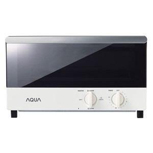 AQUA オーブントースター 1200W ホワイト AQT-WA1-W