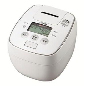 【処分品】 タイガー JPB-H100-W 圧力IH炊飯ジャー 「炊きたて」(5.5合)ホワイト