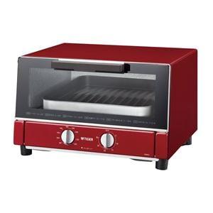 タイガー オーブントースター 「やきたて」 (レッド) KAM-A130-R