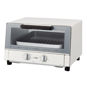 タイガー オーブントースター 「やきたて」 (ホワイト) KAM-A130-W