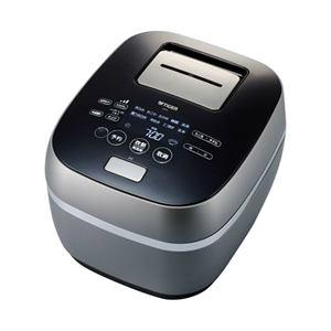 タイガー 土鍋圧力IH炊飯ジャー 「GRAND Xシリーズ THE 炊きたて」(5.5合炊き) プレミアムブラック JPX-A100-K