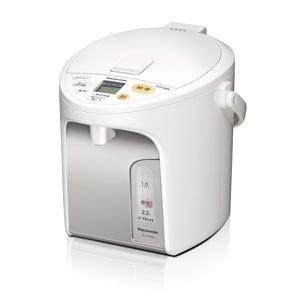 パナソニック 電動給湯式電気ポット (2.2L) ホワイト NC-HU224-W