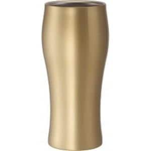 ドウシシャ 飲みごろビールタンブラー 420 ゴールド DSB420GD