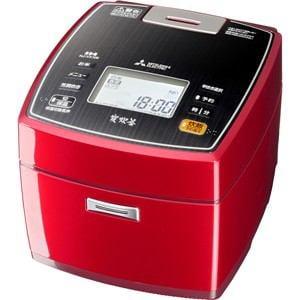 三菱 IH炊飯器 5.5合炊き 炭炊釜 ルビーレッド NJ-VX106-R