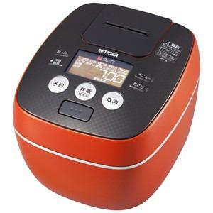 タイガー 圧力IH炊飯ジャー 「炊きたて」(5.5合) アーバンオレンジ JPB-G101-DA