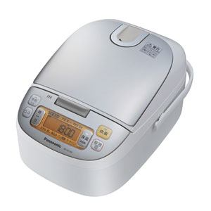 パナソニック IHジャー炊飯器(5.5合炊き) シャンパンホワイト SR-HC105-W