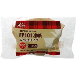 カリタ コーヒーペーパーフィルター 濾紙みさらしタイプ(100枚入) 1-2人用 FP101