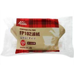 カリタ コーヒーペーパーフィルター 濾紙みさらしタイプ(100枚入) 2-4人用 FP102