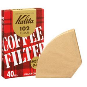 カリタ コーヒーフィルター みさらしタイプ 40枚 (2~4人用) 102濾紙