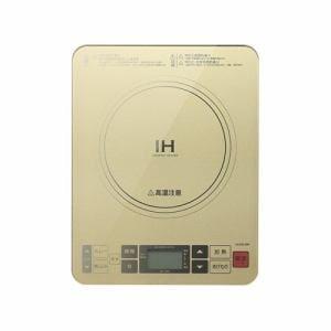 コイズミ IHクッキングヒーター ゴールド KIH-1403/N