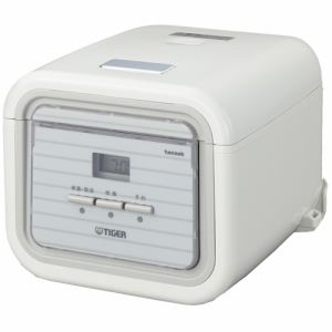 タイガー マイコン炊飯器 「炊きたて tacook」 3.0合 シンプルホワイト JAJ-A552-WS